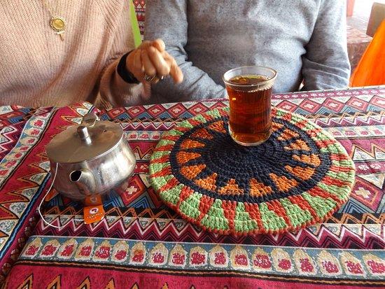 El Attar Middle Eastern Grill : Peppermint tea