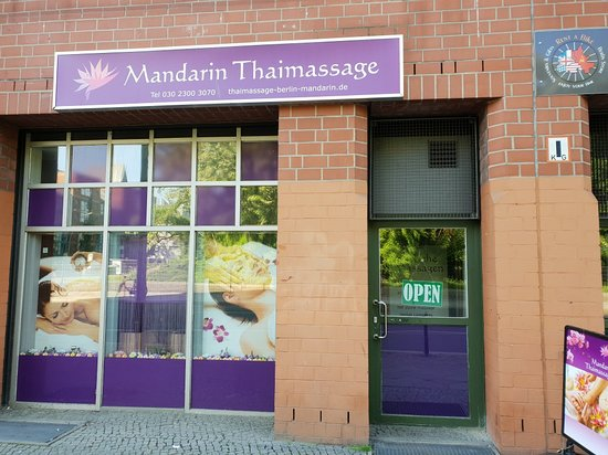 Berlin, Germany: Mandarin Thaimassagen
