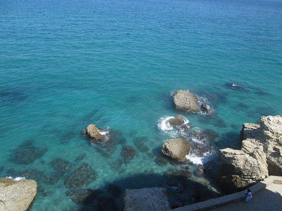 Balcón de Europa: Aguas cristalinas