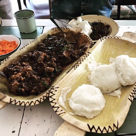 We Also Serve More Traditional Food Such As Mogodu Tripe Cow Heels