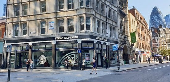 Pizza Express Bishopsgate London Picture Of Pizza Express