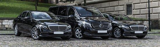 Condado de Split-Dalmácia, Croácia: Our New Mercedes vehicles ready to serve...