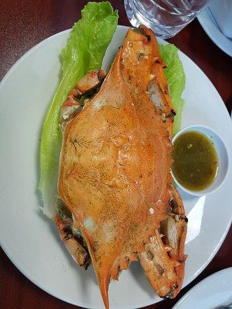 المهبولة, الكويت: Grilled Crab