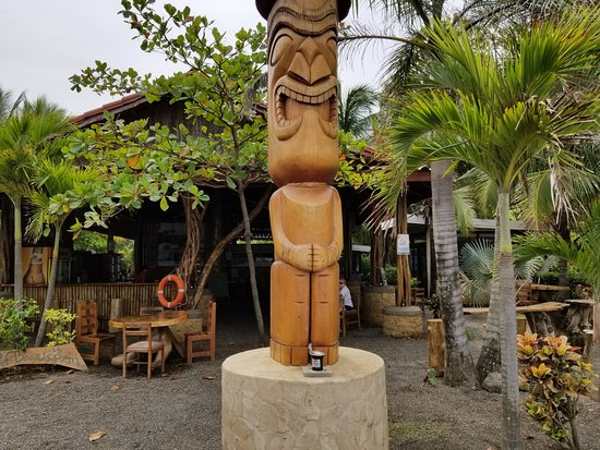 Marbella, Costa Rica: entrance to Tiki bar