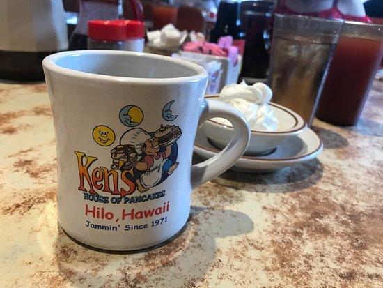 Ken's House of Pancakes: コーヒー