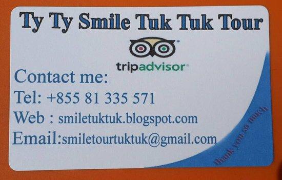 Ty Ty Smile Tuk Tuk Tour