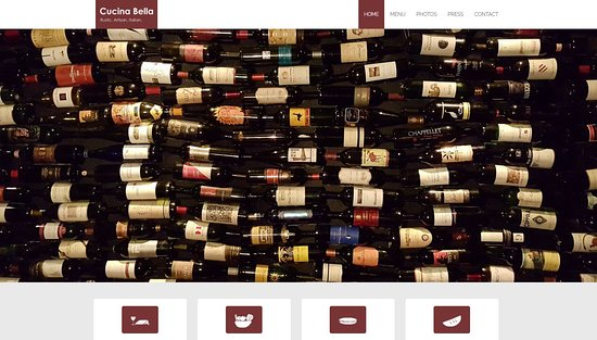Bridgeville, Пенсильвания: The wine pictured on their website - again - they do NOT serve wine!