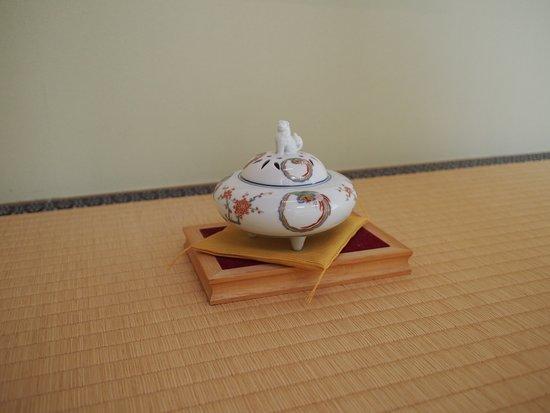 Iwakuni Kokusai Kanko Hotel: 香炉?みたいな置物があちらこちらに