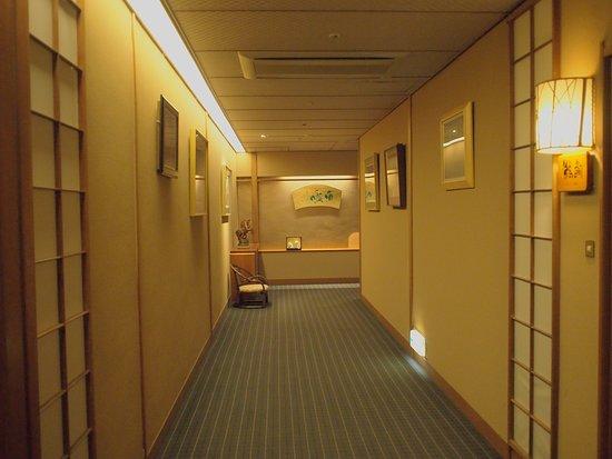 Iwakuni Kokusai Kanko Hotel: 廊下