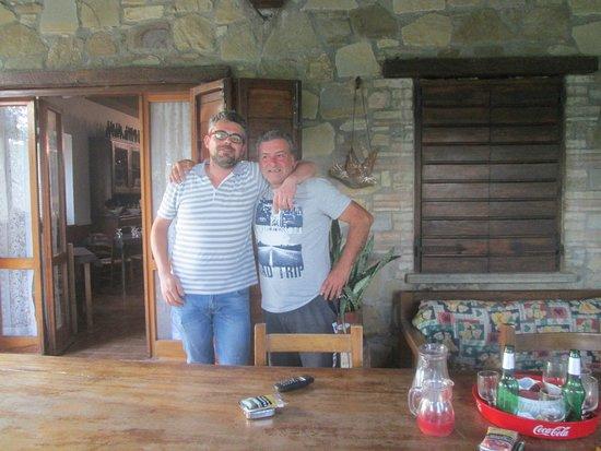 Piccione, Italien: Dimitri direttamente dalla Corsica