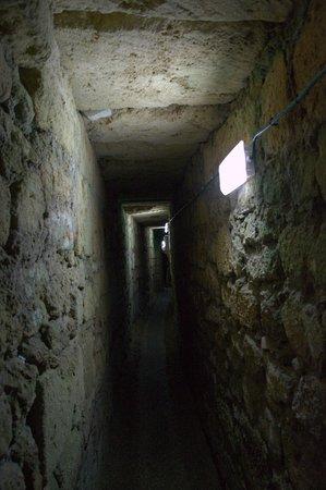 Templars Tunnel: tunnel dei prigionieri