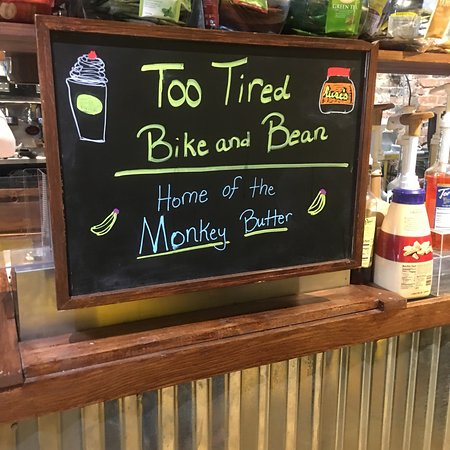 Jeffersonville, IN: Too Tired Bike & Bean