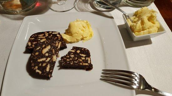 Casorate Primo, Италия: salame al cioccolato e zabaione