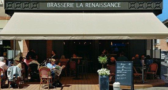 Rabastens, فرنسا: Terrasse La Renaissance