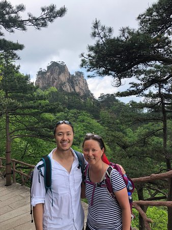 Yellow Mountain - Chris & Annie. Jack Fan-China Highlights 5-14 to 5-16.