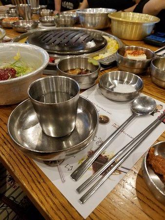 Kang ho Dong Baekjeong: Our table