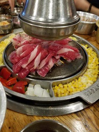 Kang ho Dong Baekjeong: Sliced Brisket