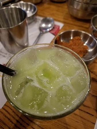 Kang ho Dong Baekjeong: Melon Makgeolli Cocktail