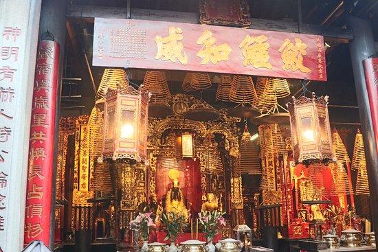 Sam Kai Vui Kun Temple: The temple is peaceful.