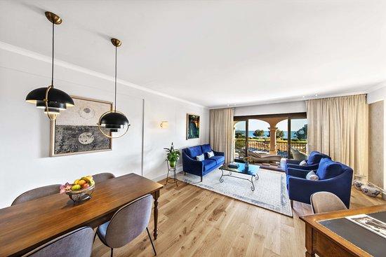 Costa d'en Blanes, Spanien: Ocean Two Suite Livingroom
