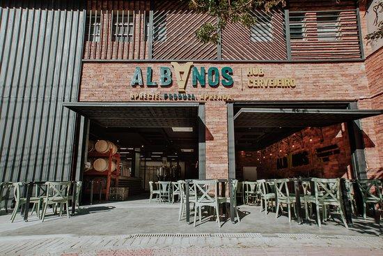 Albanos Hub Cervejeiro: Fachada Hub Cervejeiro (Sion)