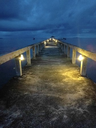 Wori, Indonesia: Jetty