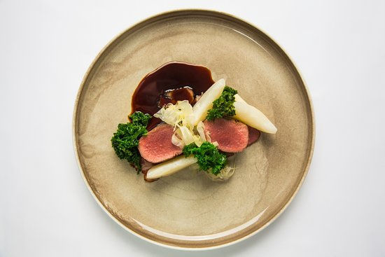 LAMB LOIN AND BELLY, tumip, kale, fennel