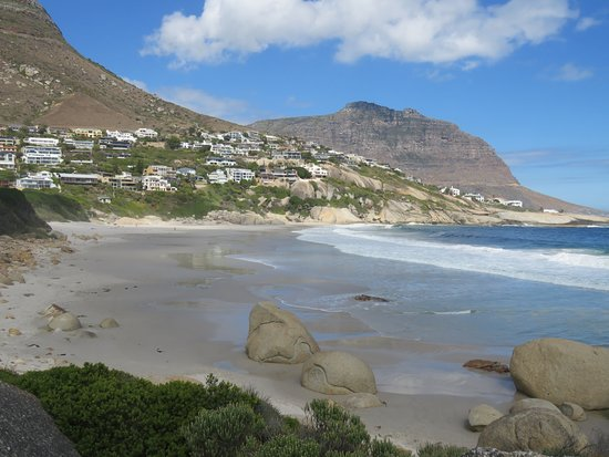 Llandudno, South Africa: Side view of beach