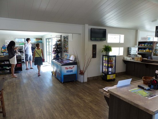 Taupo District, New Zealand: Im Visitor Center