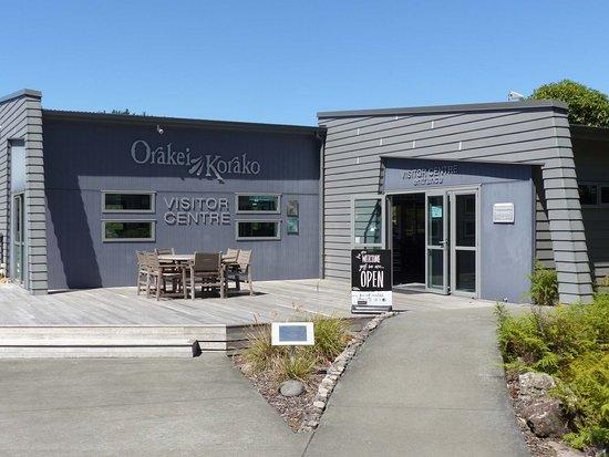 Taupo District, Nowa Zelandia: Außenansicht des Visitor Centers
