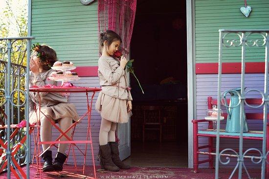 Valflaunes, فرنسا: Roulotte sur le domaine