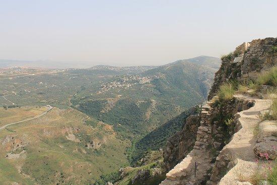 Arnoun, Lebanon: Great views to the south