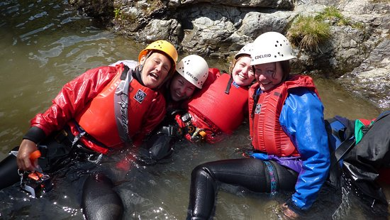 Kendal, UK: Hen Events in The Lale District. Ghyll Scrambling.
