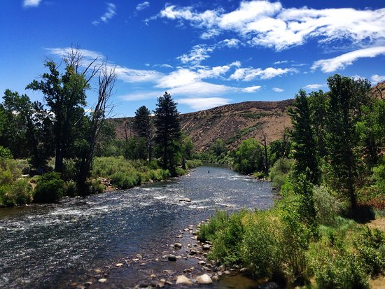 The Truckee River in Reno