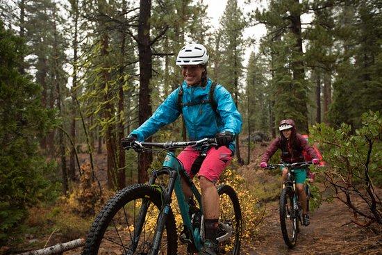 Biking The Tahoe Flume Trail Picture Of Reno Nevada Tripadvisor