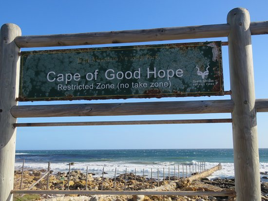 Scarborough, South Africa: Sign