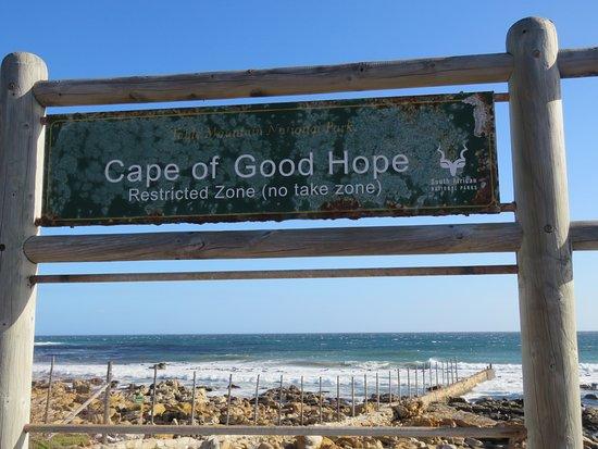Scarborough, Güney Afrika: Sign