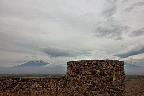 Lusarat, Armênia: Kleiner und großer Ararat und die Anlage