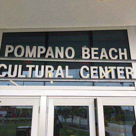 ‪Pompano Beach Cutural Center‬