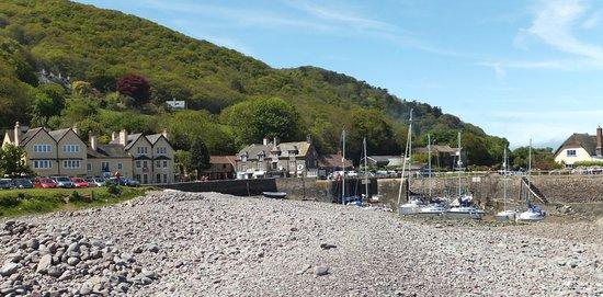 Porlock Weir, UK: Pebble beach