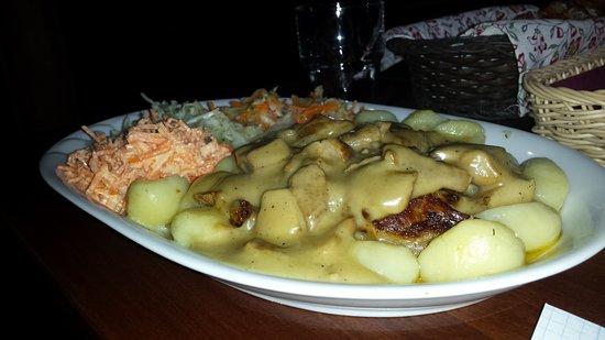 Pulawy, بولندا: Огромные порции