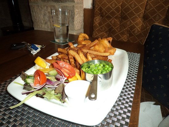 South Wingfield, UK: well presented food