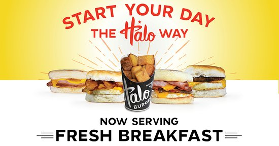 Grand Blanc, MI: Start your day the Halo way with fresh made breakfast favorites! Now available at Hill Road!
