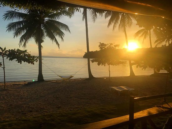 Ticao Island, Philippines: Sunrise from my Cabana