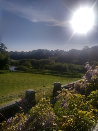 Yealmpton, UK: View from the veranda