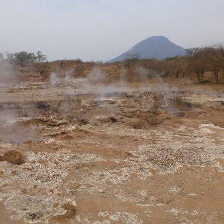 Vulkanische borrelende bronnen