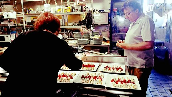 Absecon, NJ: Making Cannolis