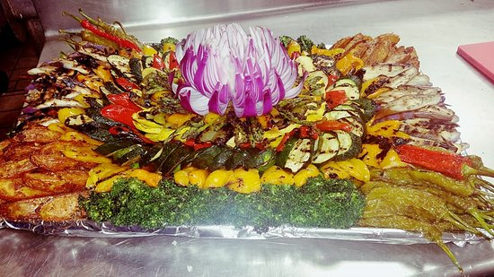 Absecon, NJ: Roasted Veggie Tray