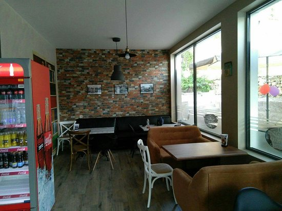 Panagyurishte, بلغاريا: Madrid coffe cake pizza