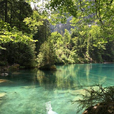 Blausee-Mitholz, Ελβετία: Naturpark Blausee.